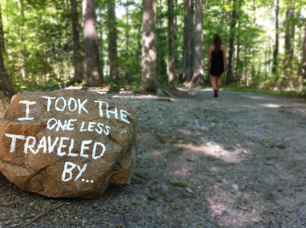 themes in the road less traveled essay